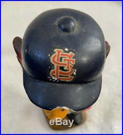 VINTAGE 1960s MLB ST LOUIS CARDINALS BASEBALL BOBBLEHEAD NODDER BOBBLE HEAD