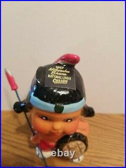(VTG) 1957 Milwaukee Braves baseball NL champs mascot bobblehead nodder japan