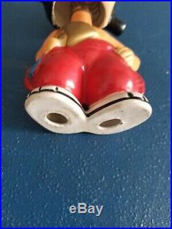(VTG) 1957 Milwaukee Braves baseball NL champs mascot nodder bobblehead japan