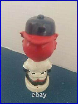 (VTG) 1960s st Louis cardinals mascot bird mini bobble head nodder doll Japan