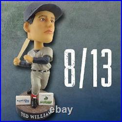 Vermont Lake Monsters Boston Red Sox #9 Ted Williams Bobblehead SGA 8/13/15 NIB