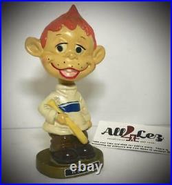 Vintage 1960's Baseball Player Homer Nodder Bobblehead Euc