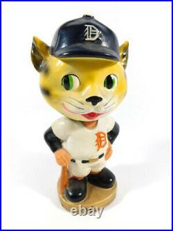 Vintage 1960's Detroit Tigers Bobblehead Nodder Mascot Near Mint