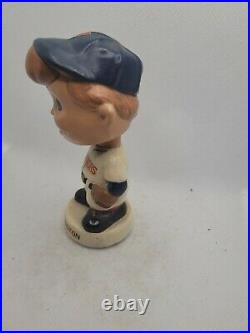 Vintage 1960's Mini BobbleHead Nodder Washington Senators Japan damaged