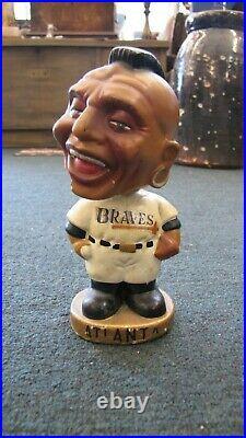 Vintage 1960s Atlanta Braves Bobble Head