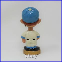 Vintage 1960s Bobblehead Doll Los Angeles Dodgers Gold Base #32