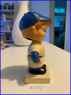 Vintage 1960s LA Dodgers Bobble Head with White Base RARE