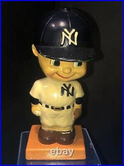 Vintage 1960s MLB New York Yankees Bobblehead Nodder Very Rare