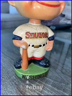 Vintage 1962 Washington Senators Baseball Bobblehead Made In Japan