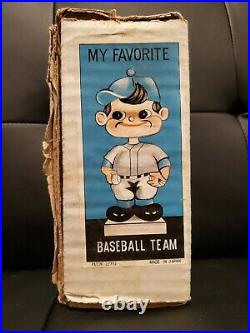 Vintage 1970's Milwaukee Brewers Empty Bobblehead Box My Favorite Baseball Team