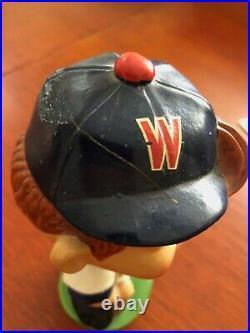 Vintage Washington Senators Bobblehead w Green Base