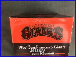 Will Clark 1987 Team Reunion Bobblehead Sf Giants San Francisco Brand New Sga